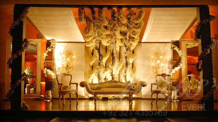 Tulips event - Best Pakistani wedding stage decoration flowering