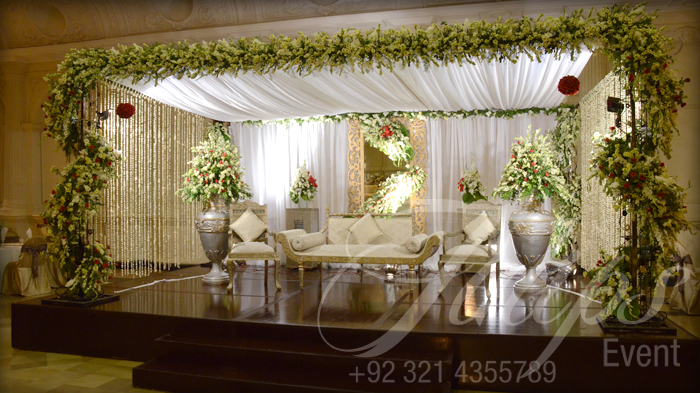 The gallery for indoor wedding stages for Indoor stage decoration